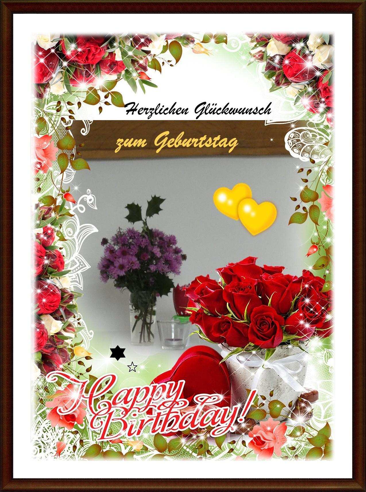 Geburtstagsgruß: heute am 21. November feiert Gudrun