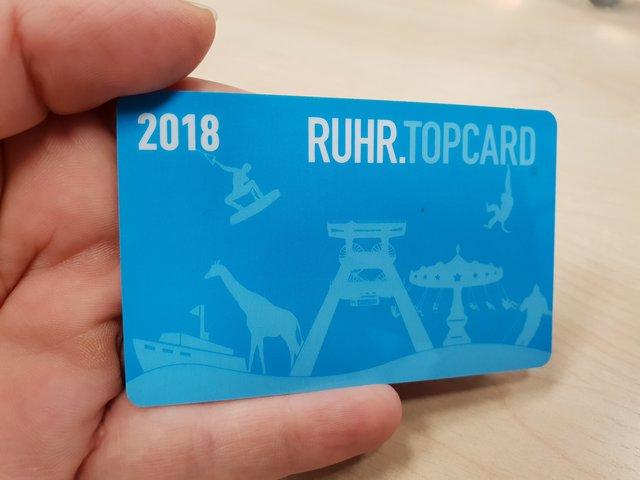 Ruhrtop Karte.Mit Einer Karte Die Region Entdecken Verkaufsstart Fur Die