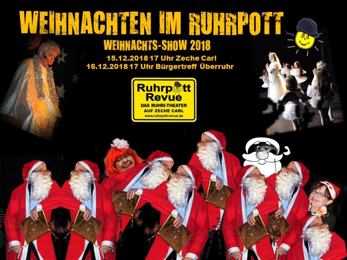 Weihnachten im Ruhrpott mit der Ruhrpott-Revue: Alle Jahre wieder ...
