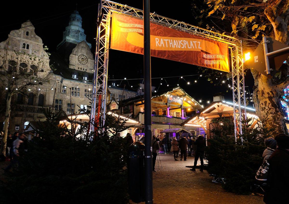 Weihnachtsmarkt Recklinghausen.Christmasflair Gleich An Vier Stellen Weihnachtsmarkt 2018 Eröffnet
