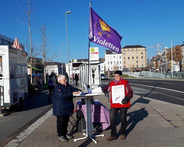 Die Violetten Europawahl