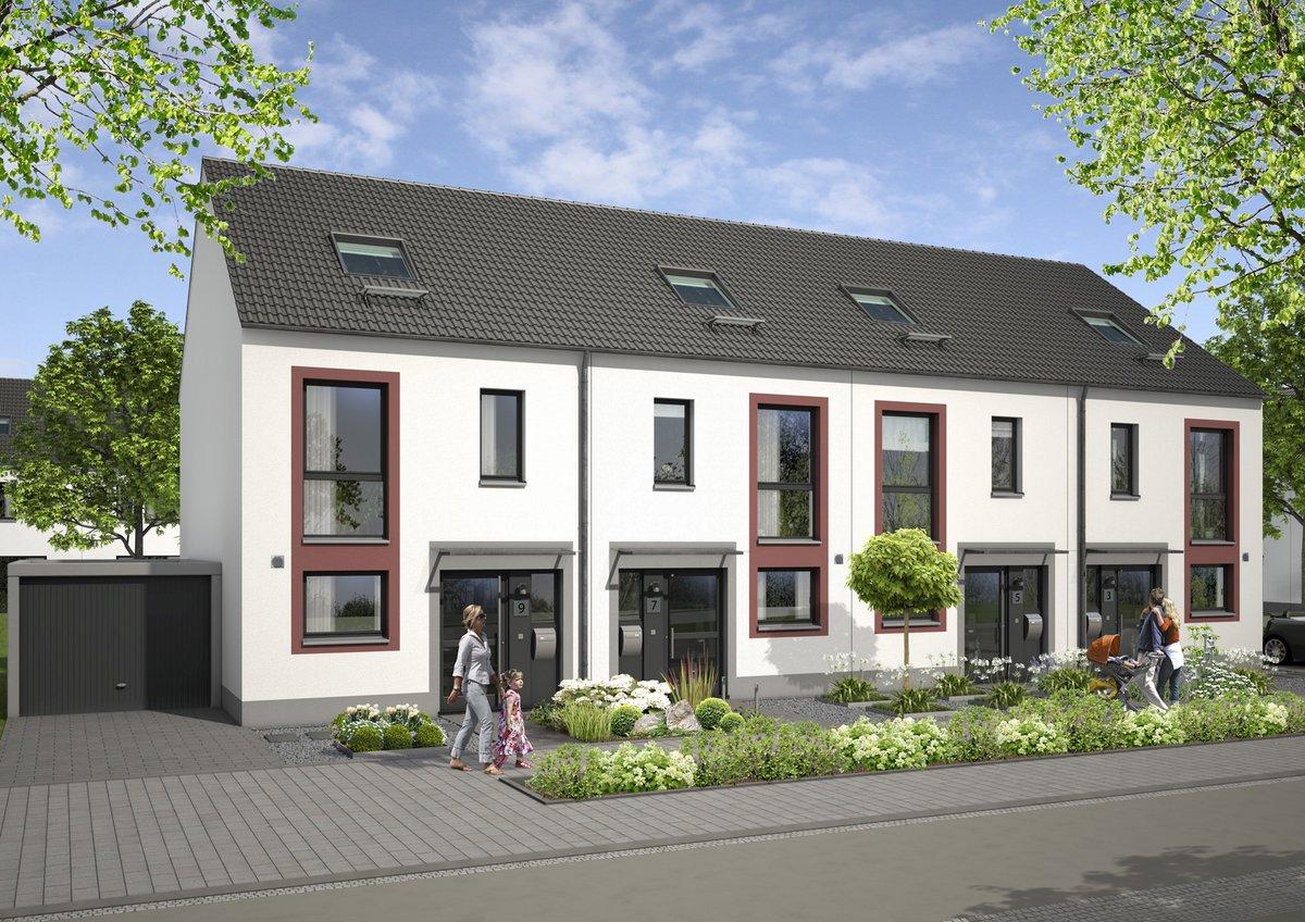 Erstes Vista Reihenhaus Projekt In Dortmund 22 Einfamilienhauser