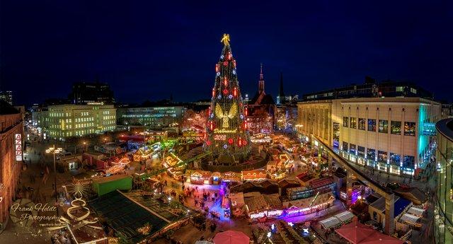 Dortmund Weihnachtsmarkt.Dortmunder Weihnachtsmarkt Dortmund City