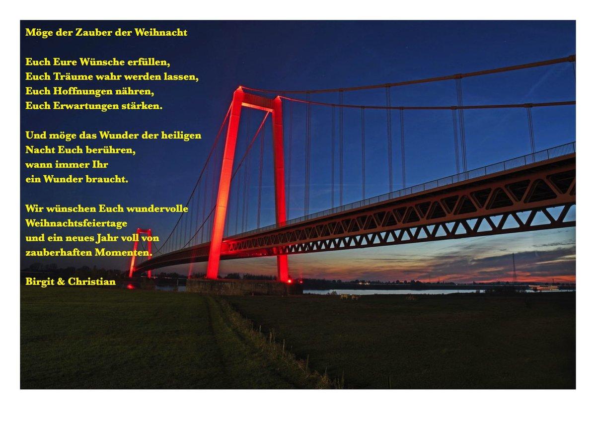 Frohe Weihnachten An Kollegen.Frohe Weihnachten Aus Emmerich Am Rhein Vom Weidezaunliebhaber