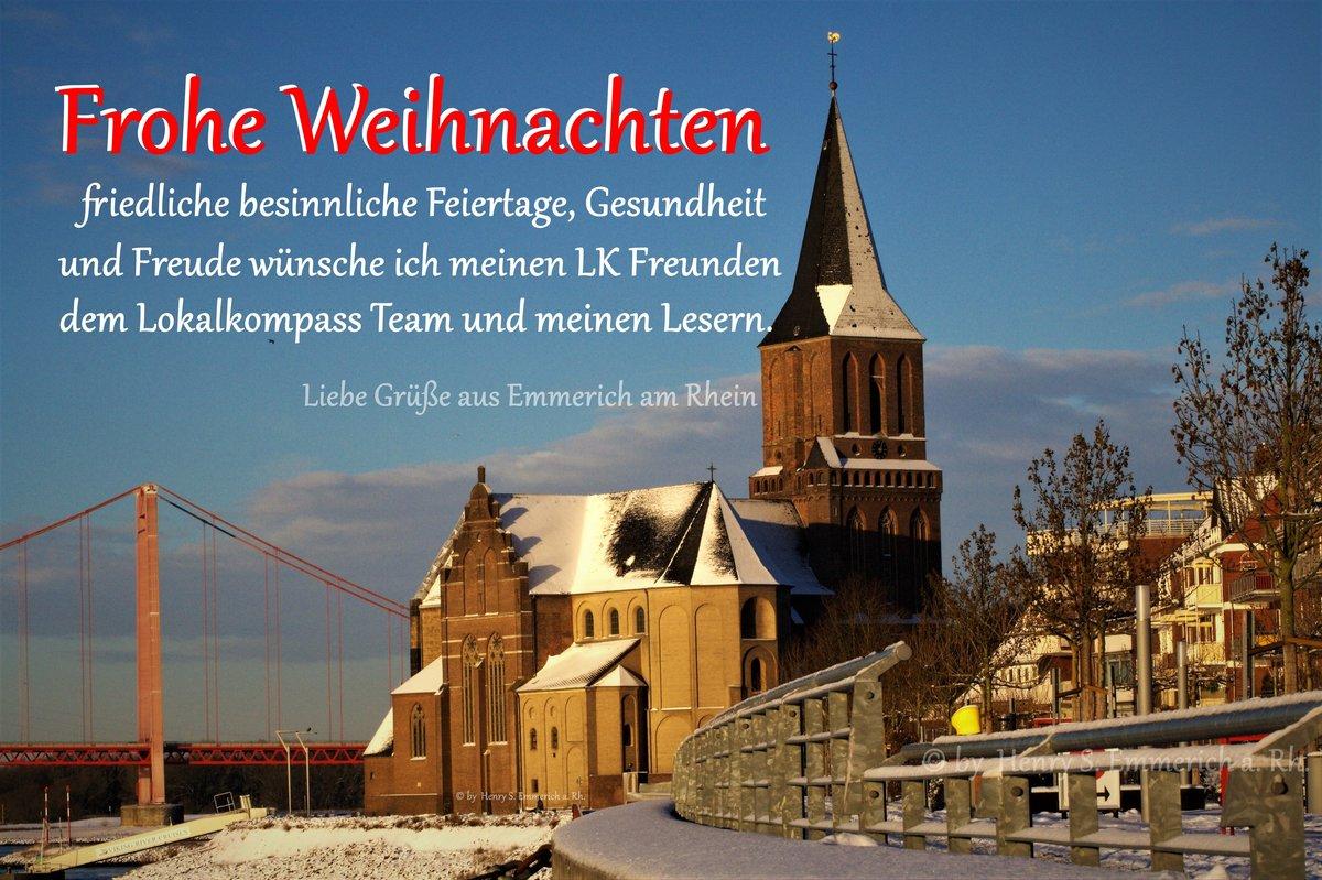 Frohe Weihnachtsgrüße.Weihnachtsgrüße Frohe Weihnachten Emmerich Am Rhein