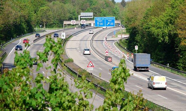 Autobahnsperrung A44 Kassel