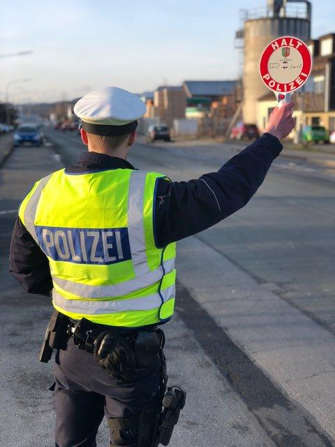 Die Polizei führte zahlreiche Kontrollen in Arnsberg durch.