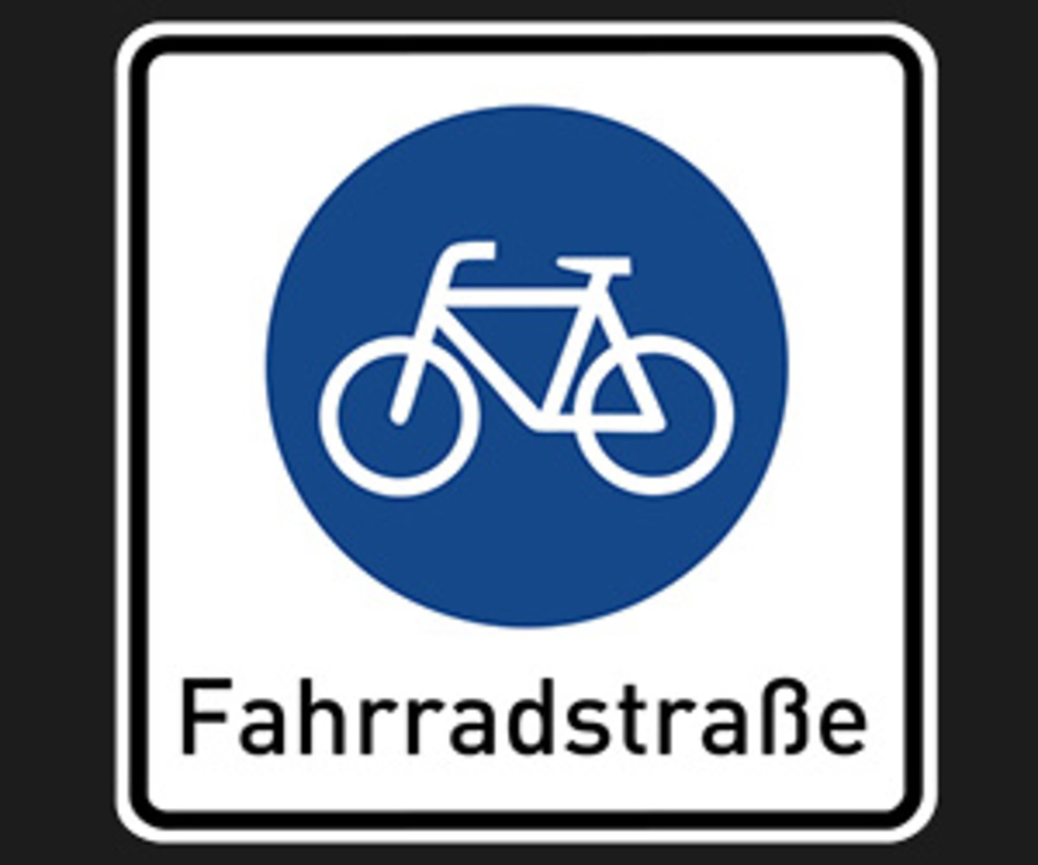 Fahrradstraße Regeln
