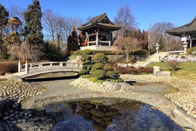 Japanischer Garten Thema