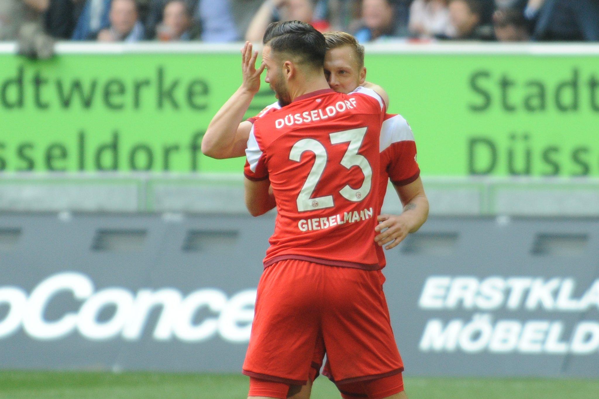 Fußball Bundesliga Bilderstrecke Fortuna Düsseldorf Gewinnt Gegen
