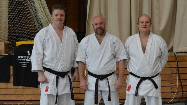 v.l. Frank Kusenberg, Iain Abernethy und Stefan Kusper