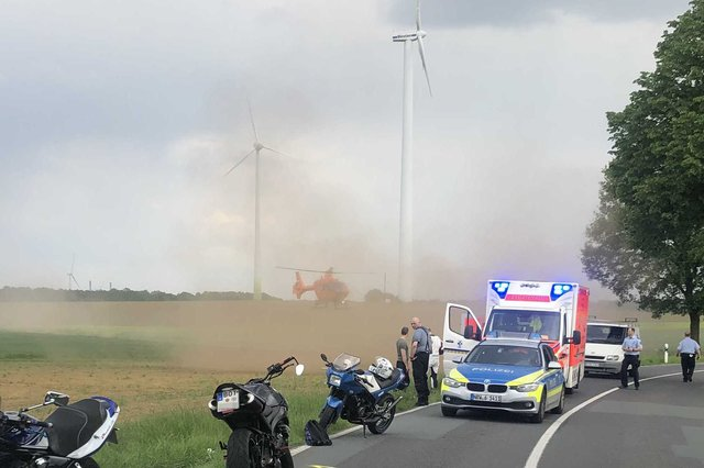 Unfall Schermbeck