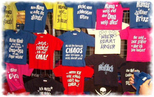 new concept 90b00 3013e Datteln: Kinder kreieren T-Shirts - Datteln