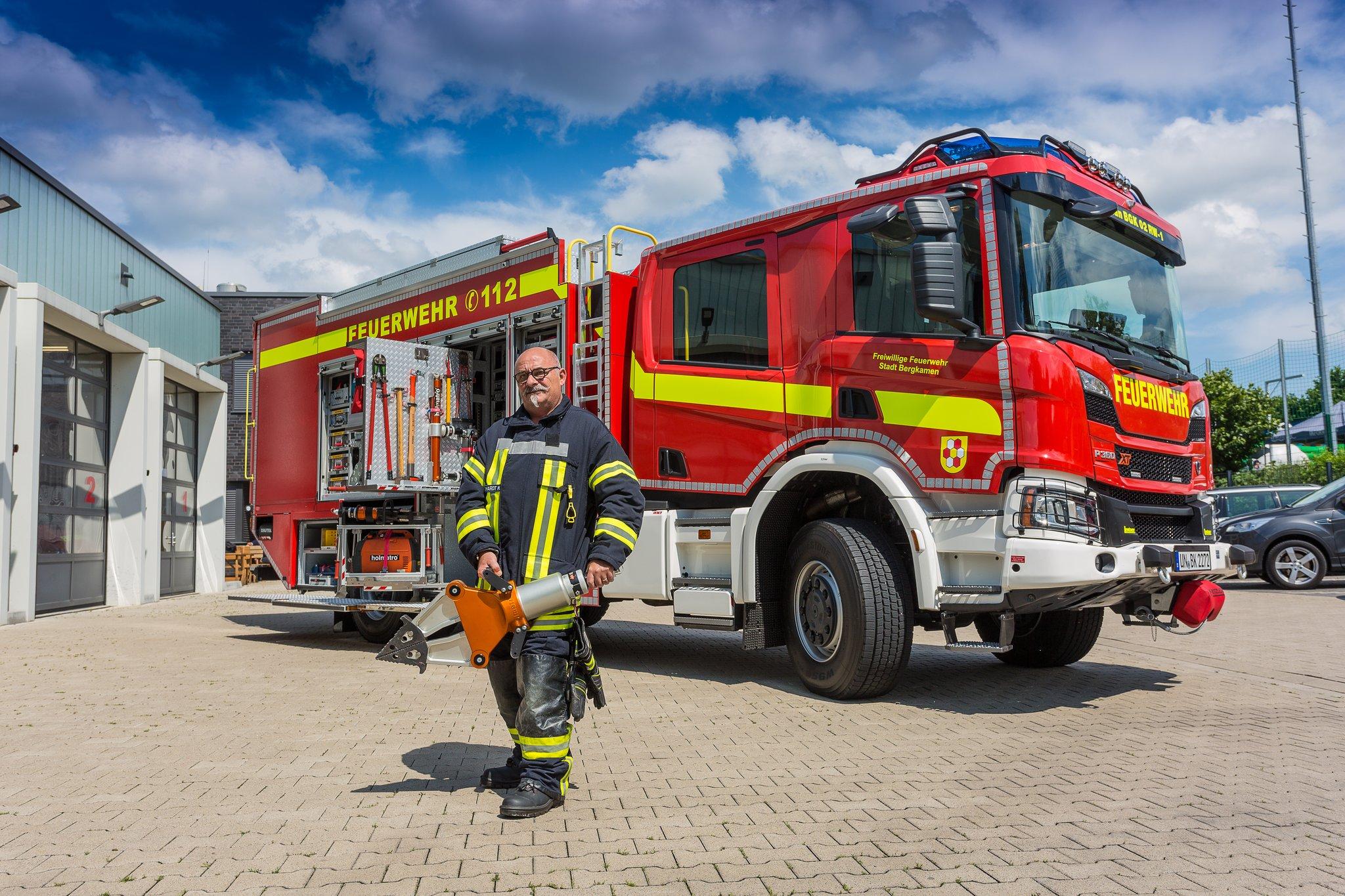 Rüstwagen der Feuerwehr Bergkamen