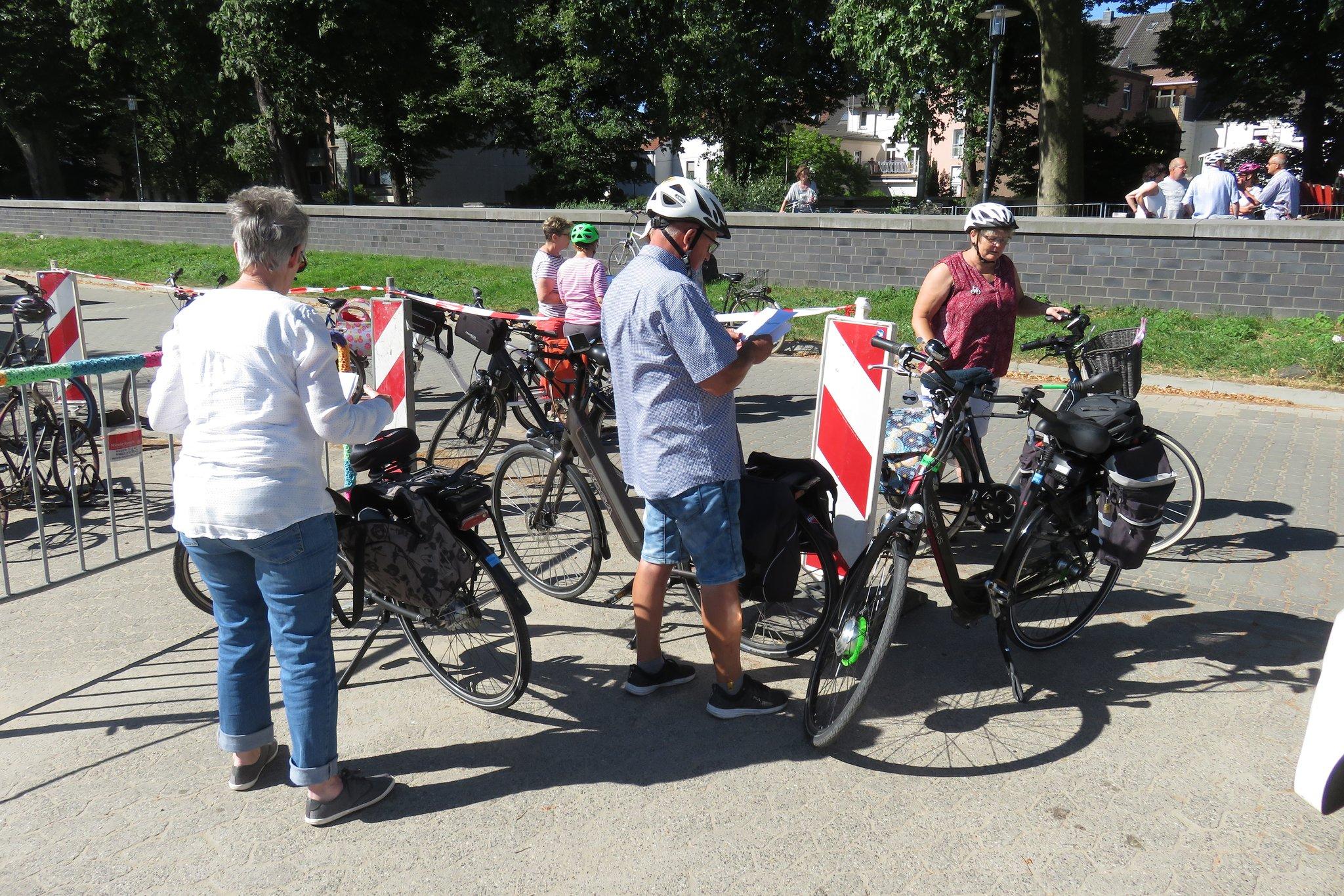 niederrheinischer radwandertag 2019 routen