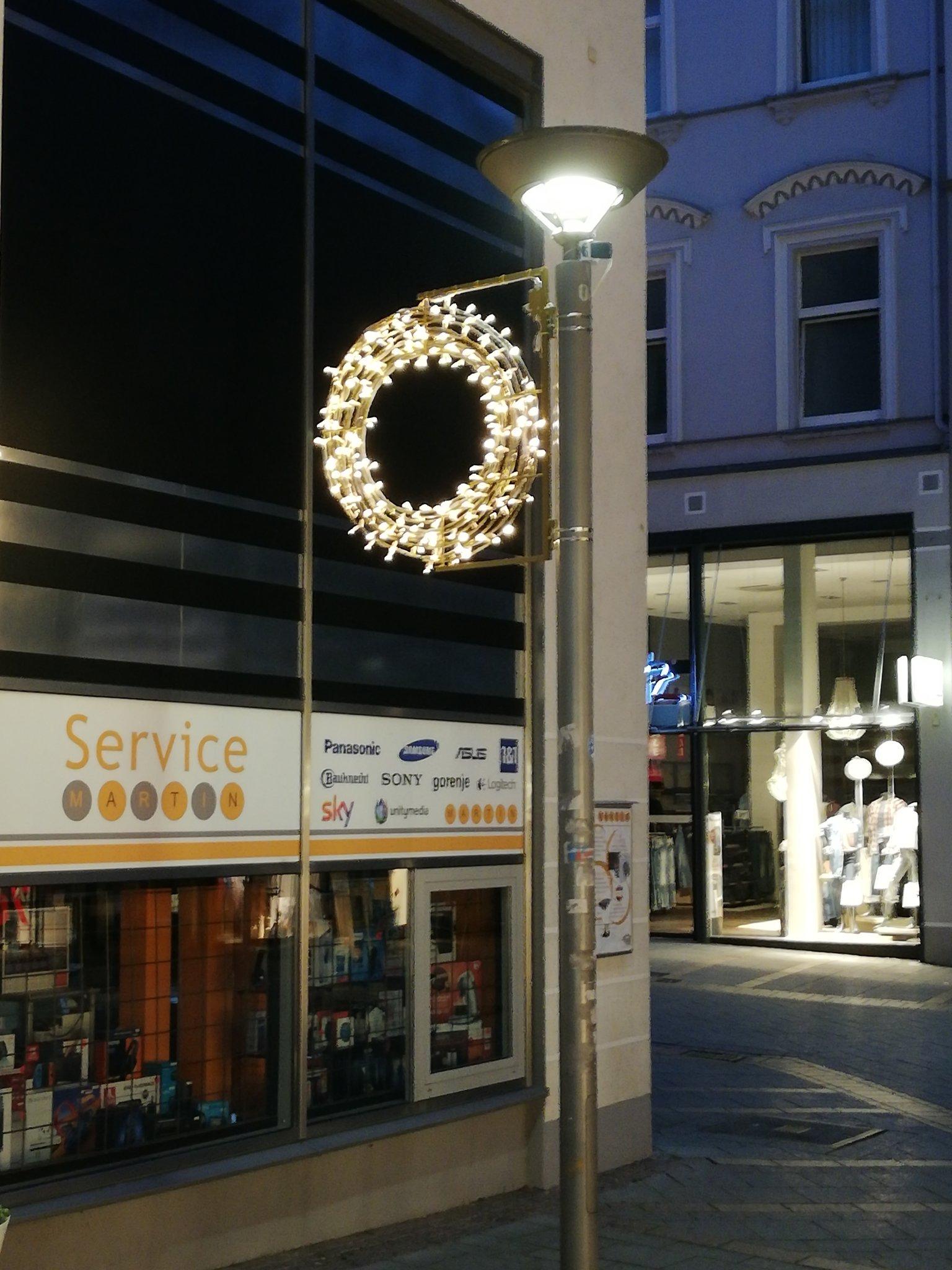 Weihnachtsbeleuchtung Xxl.Stadtmarketing Spricht über Das Zukünftige Konzept Eine Neue