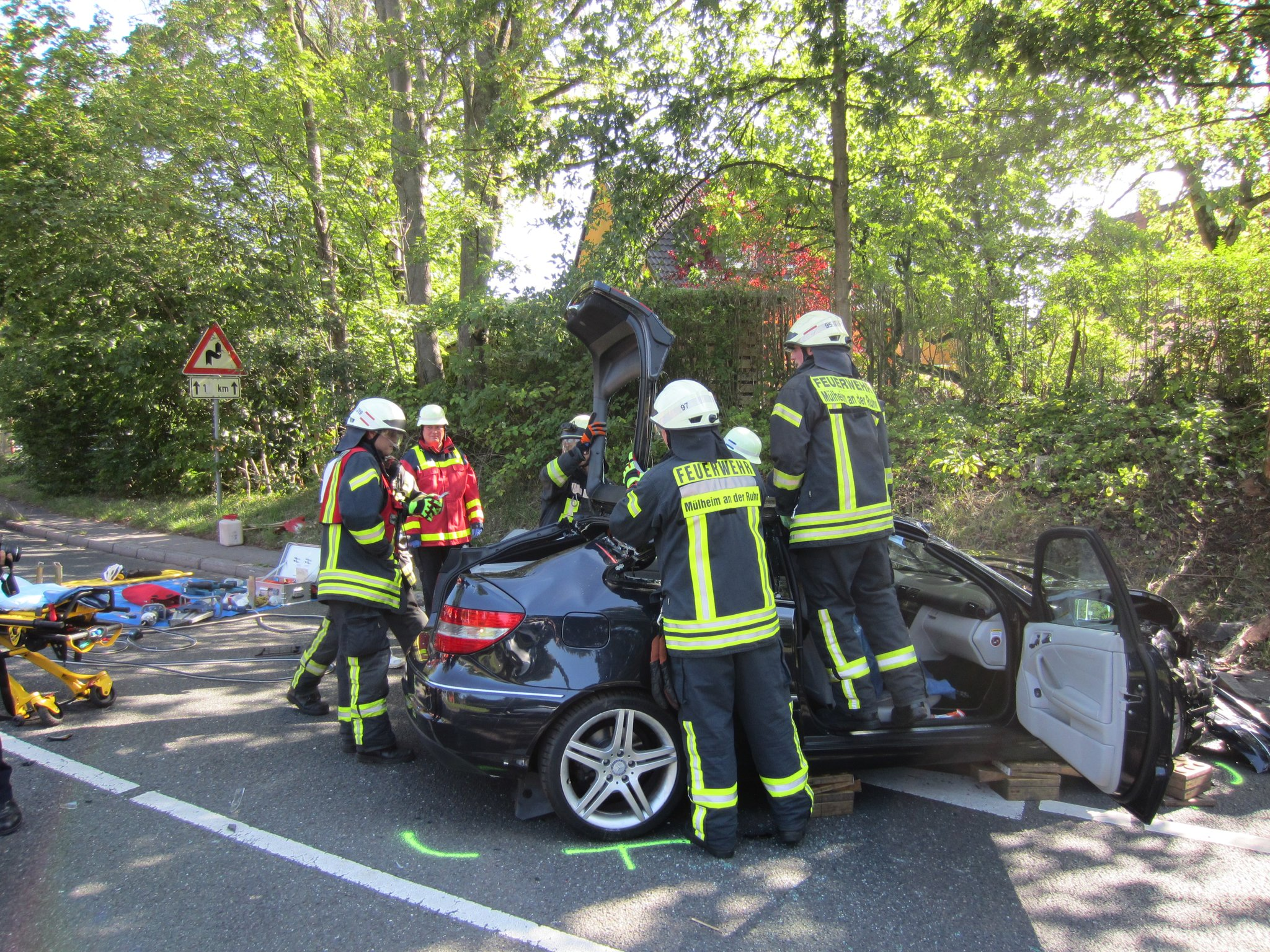 Mülheim Unfall
