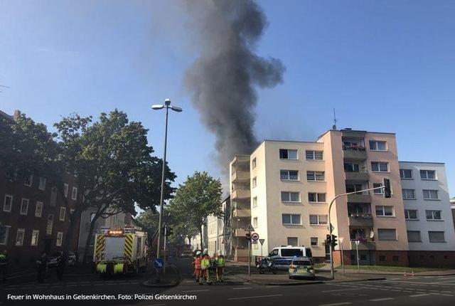 Brand Gelsenkirchen