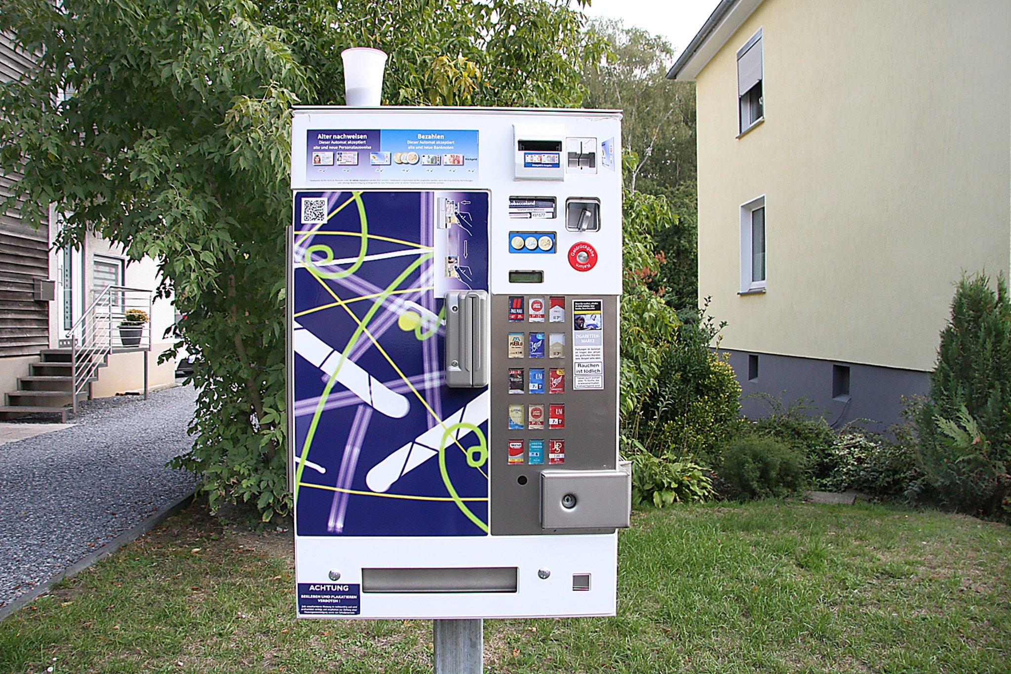 Zigarettenautomaten in der nähe | Zigarettenautomat. 2020