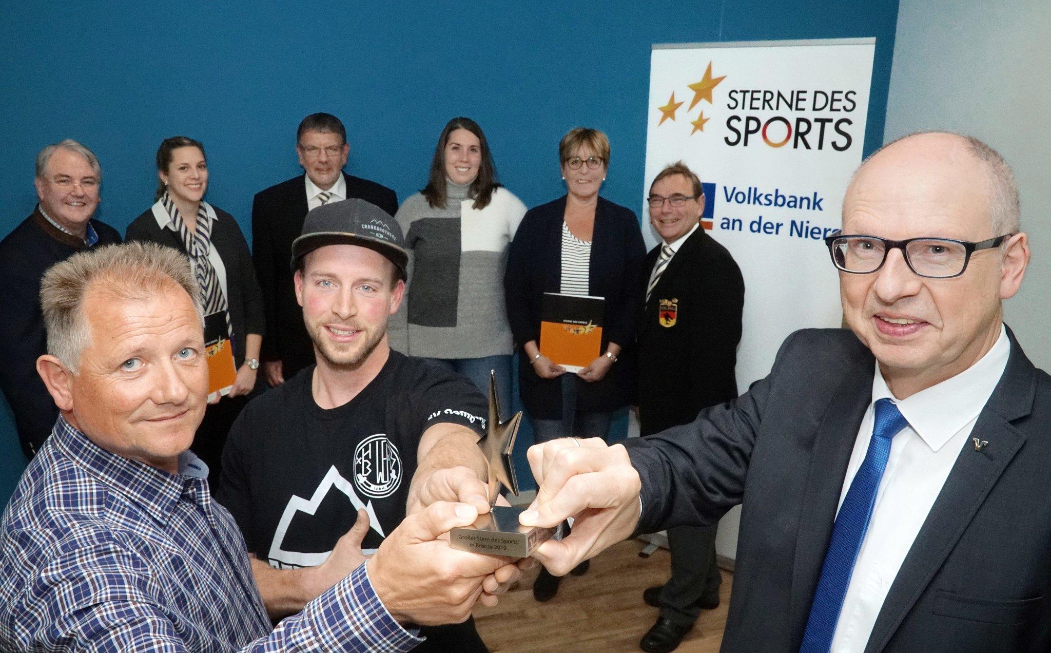 Preisgeld als Unterstützung für die junge Mountainbike-Gruppe: Germania Wemb gewinnt den großen Stern des Sports in Bronze - Lokalkompass.de