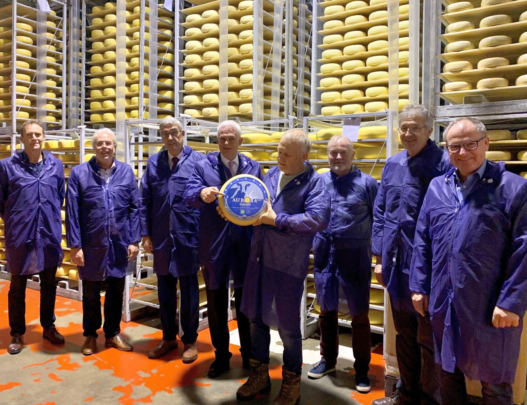 Abgeordnetenbesuch: Bergmann besuchte Gemeinde Kranenburg und die Aurora Kaas GmbH - Kranenburg - Lokalkompass.de