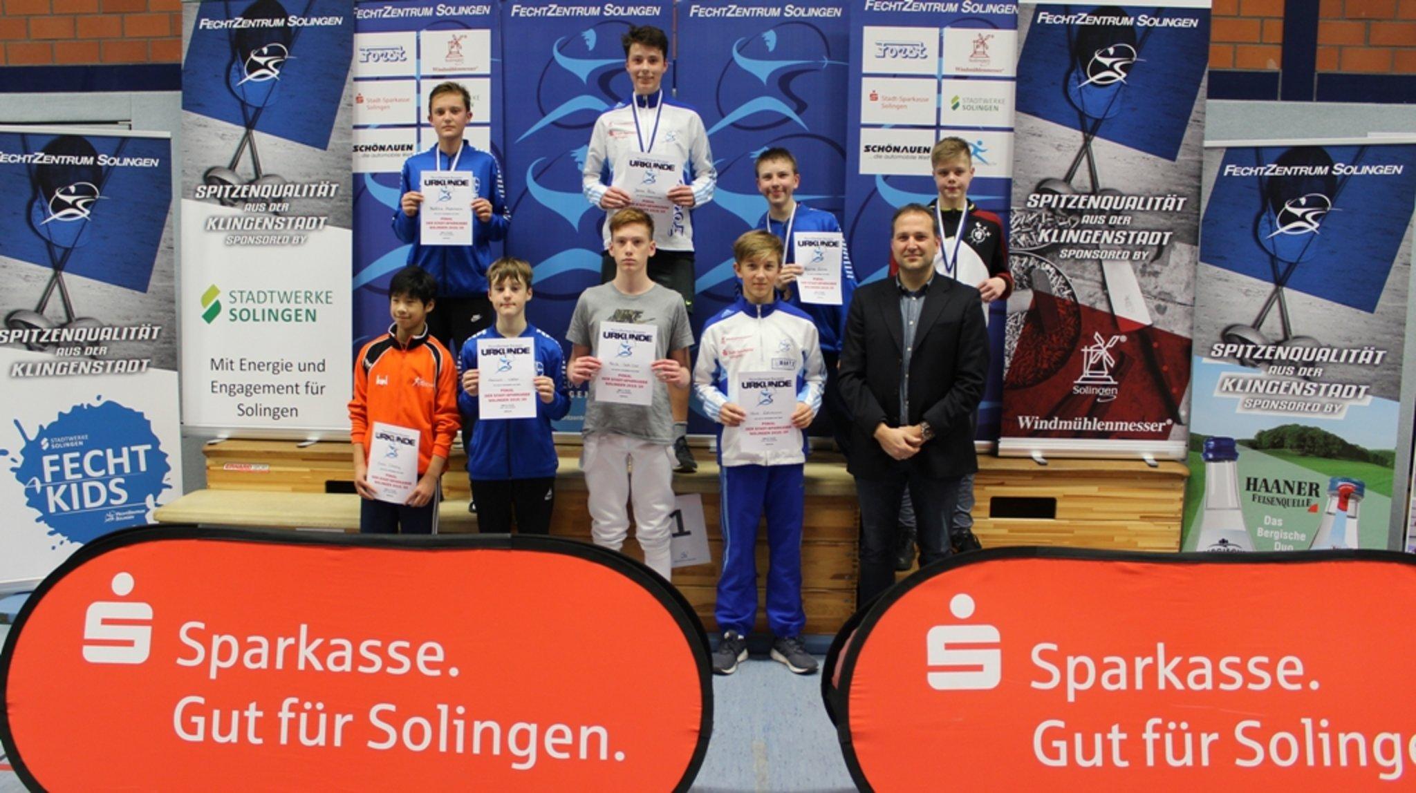 Solinger Fechtturnier 2019: Jarnu Pelz gewinnt Gold - Hilden - Lokalkompass.de