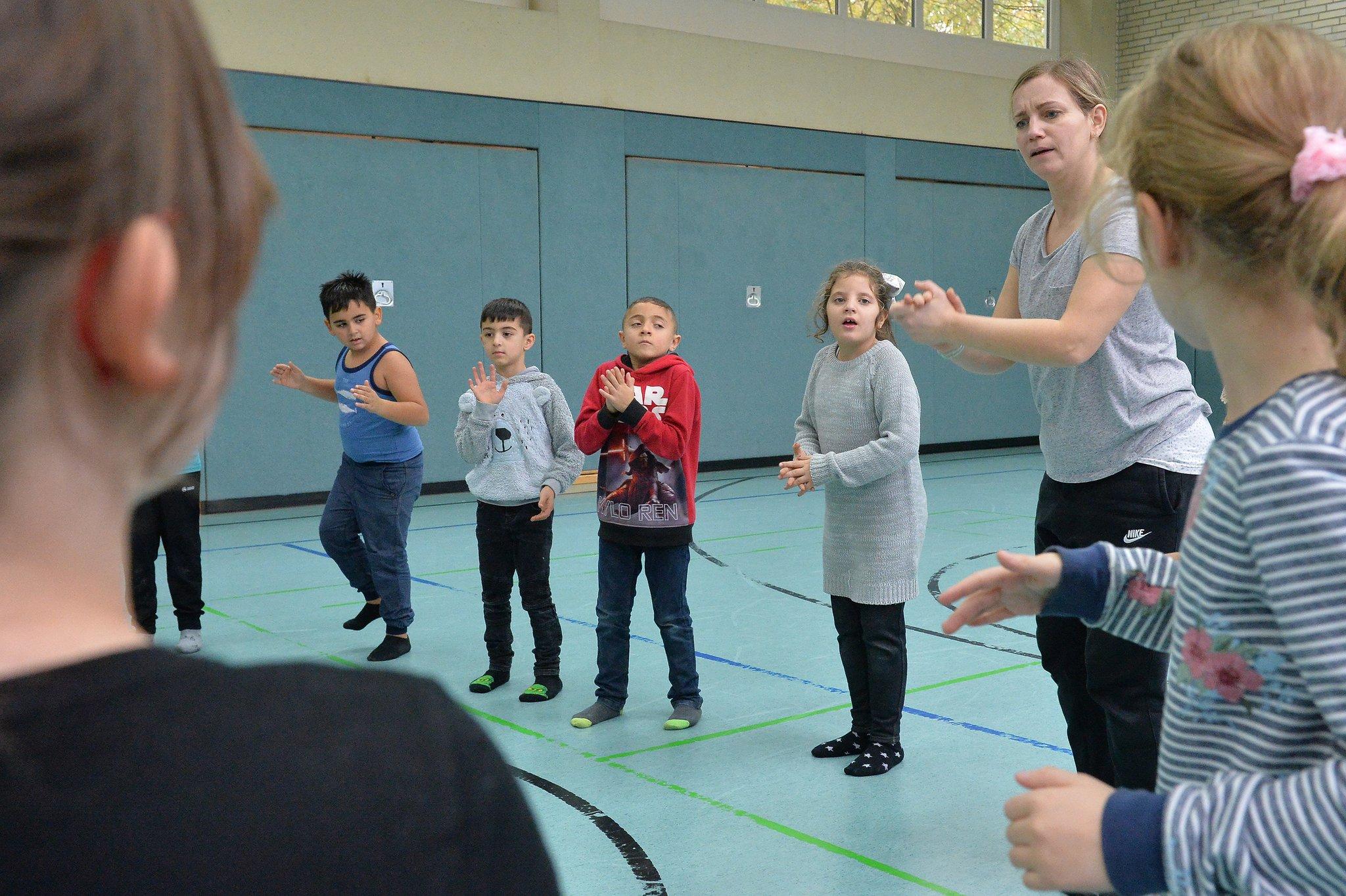 In der Unterilp tanzte das Klassenzimmer - Heiligenhaus - Lokalkompass.de