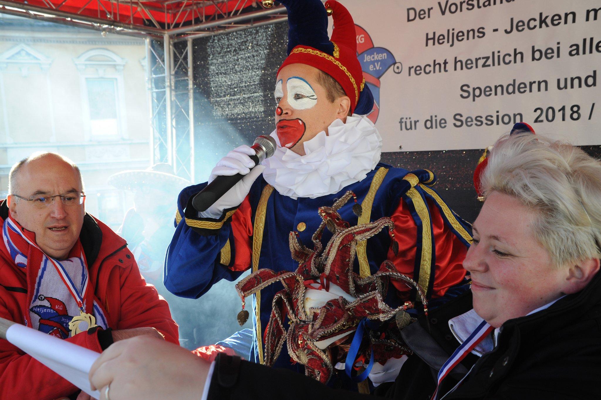 Heljens' Bürgermeister ist jeck geworden - Heiligenhaus - Lokalkompass.de