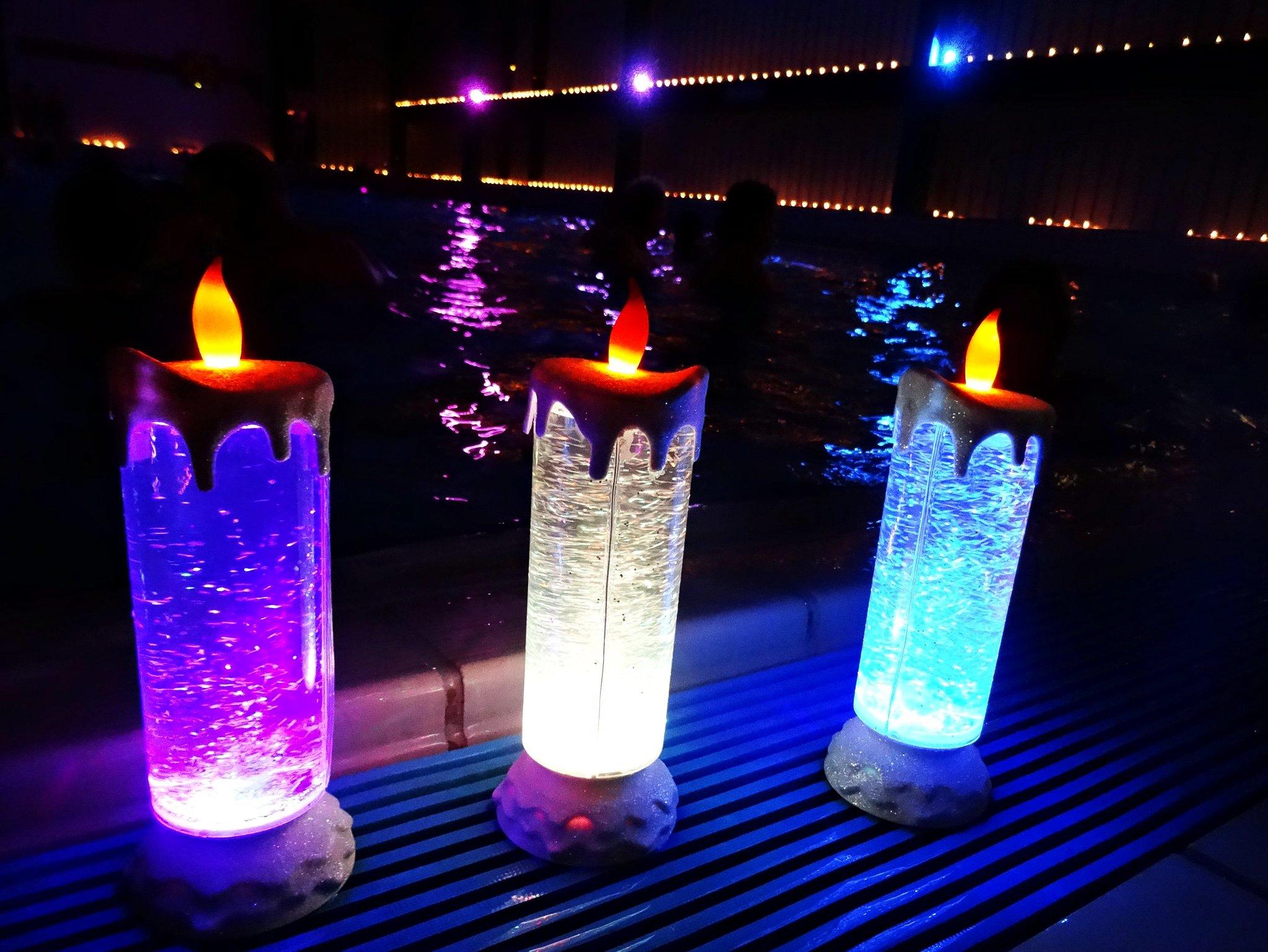 Candle-Light-Schwimmen im Bedburger Nass - Bedburg-Hau - Lokalkompass.de