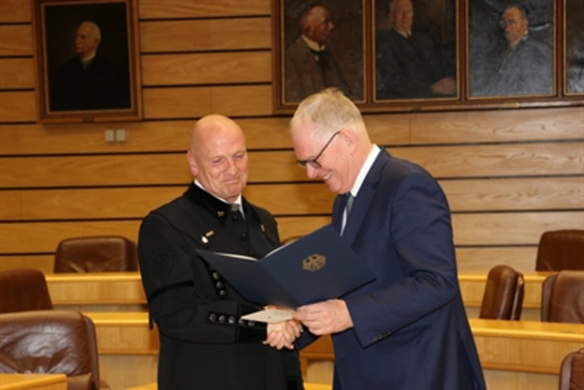 Der letzte Betriebsratsvorsitzende auf dem Bergwerk Auguste Victoria in Marl Norbert Maus bekam das Bundesverdienstkreuz - Marl - Lokalkompass.de