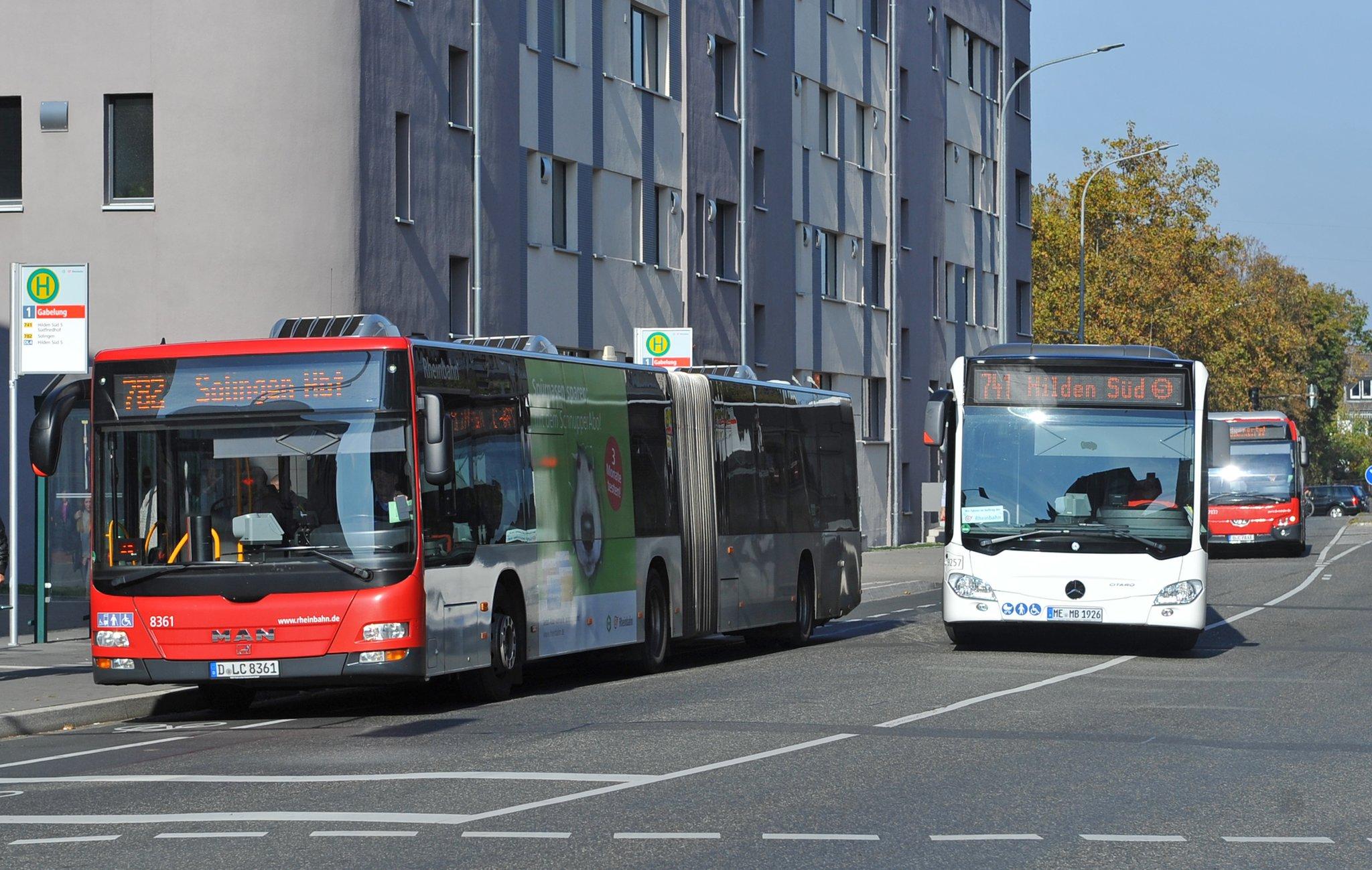 Hilden: Sperrung der Hildener Straße in Solingen: Linien 782, 783 und 792 betroffen - Hilden - Lokalkompass.de
