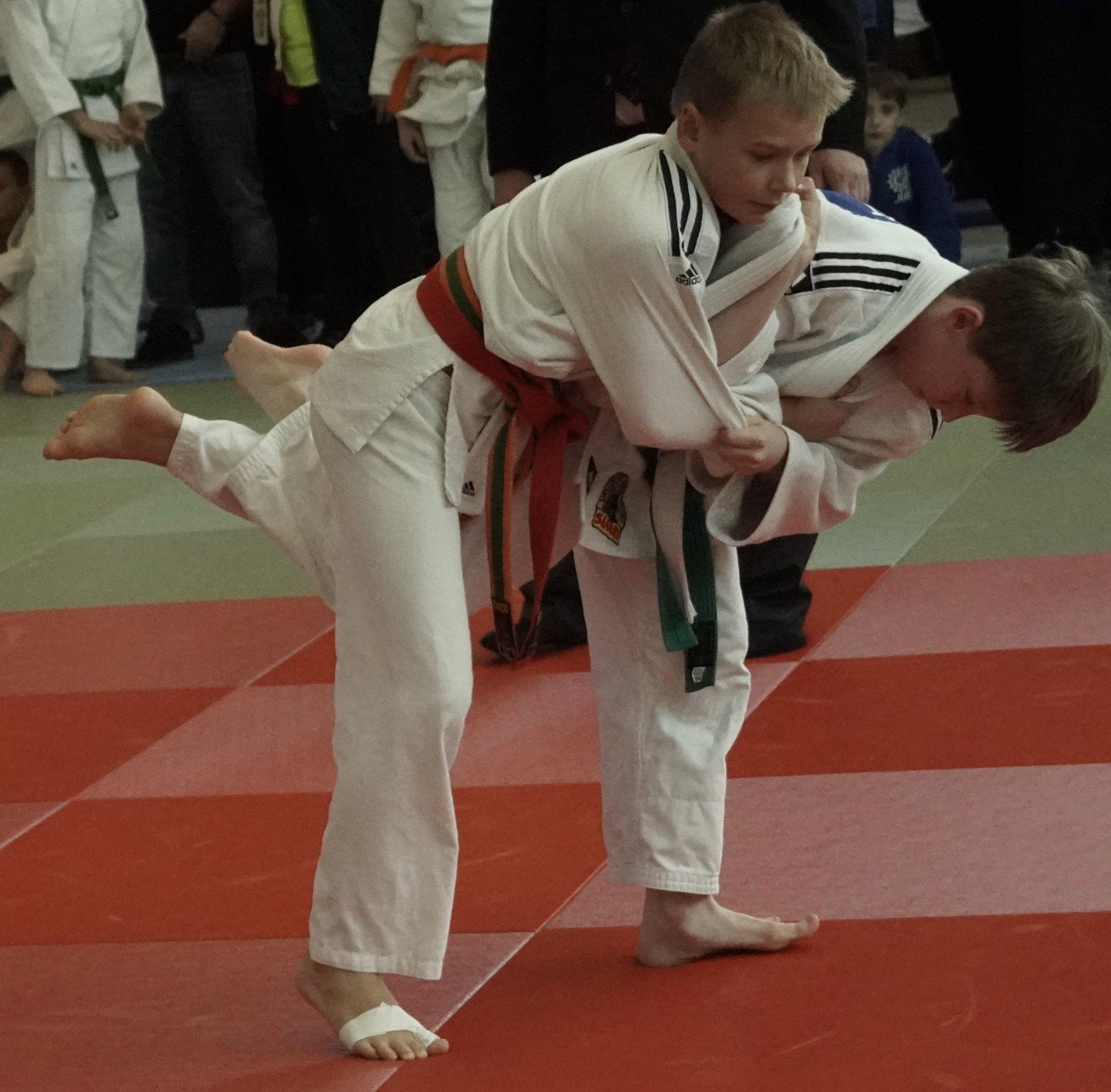 Vizewestfalenmeister F. Kahlert vom PSV (Judo) - Gelsenkirchen - Lokalkompass.de