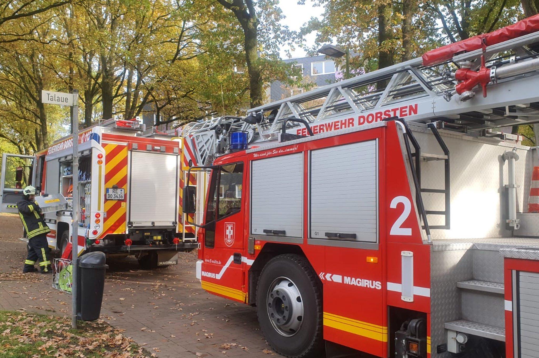 Feuerwehr löscht Brand in Küche: Rauchmelder und Nachbarn verhindern Wohnungsbrand - Lokalkompass.de