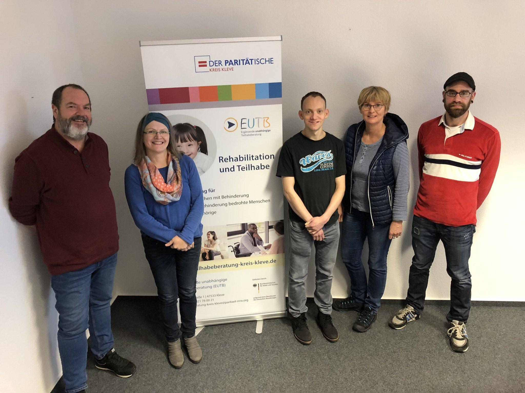 Peer-Beratung in der Ergänzenden unabhängigen Teilhabeberatung (EUTB) Kreis Kleve: Betroffene beraten Betroffene - Kleve - Lokalkompass.de