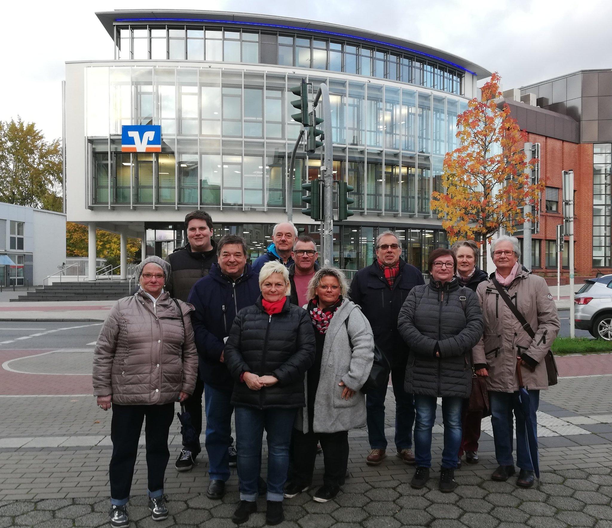 Marl: SPD Hüls überzeugt sich bei Spaziergang von Wandel im Stadtteil - Marl - Lokalkompass.de