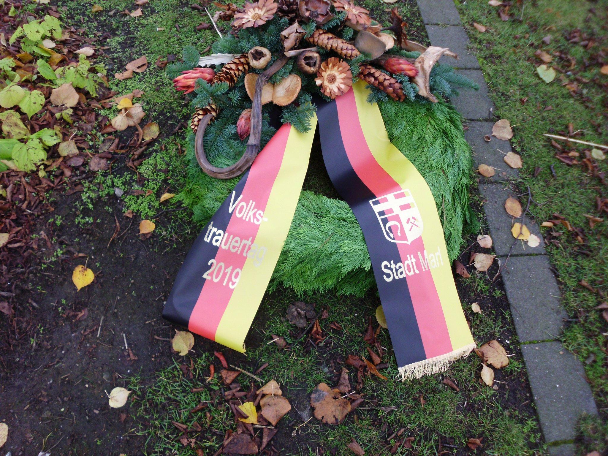 Gedenkveranstaltung zum Volkstrauertag in Marl - Marl - Lokalkompass.de