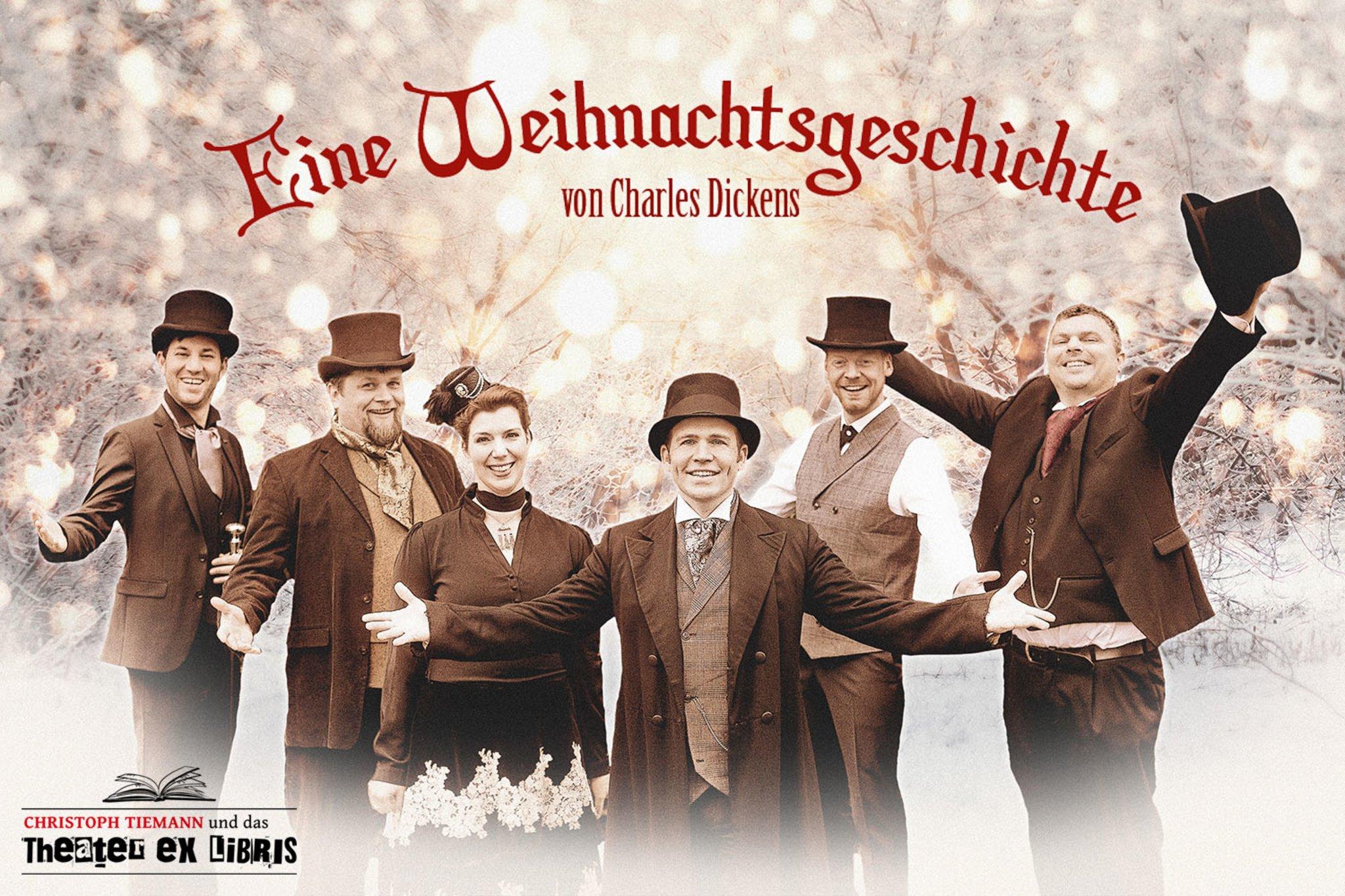 """Theater ex libris zu Gast in Dorsten: Charles Dickens """"Eine Weihnachtsgeschichte"""" - Dorsten - Lokalkompass.de"""