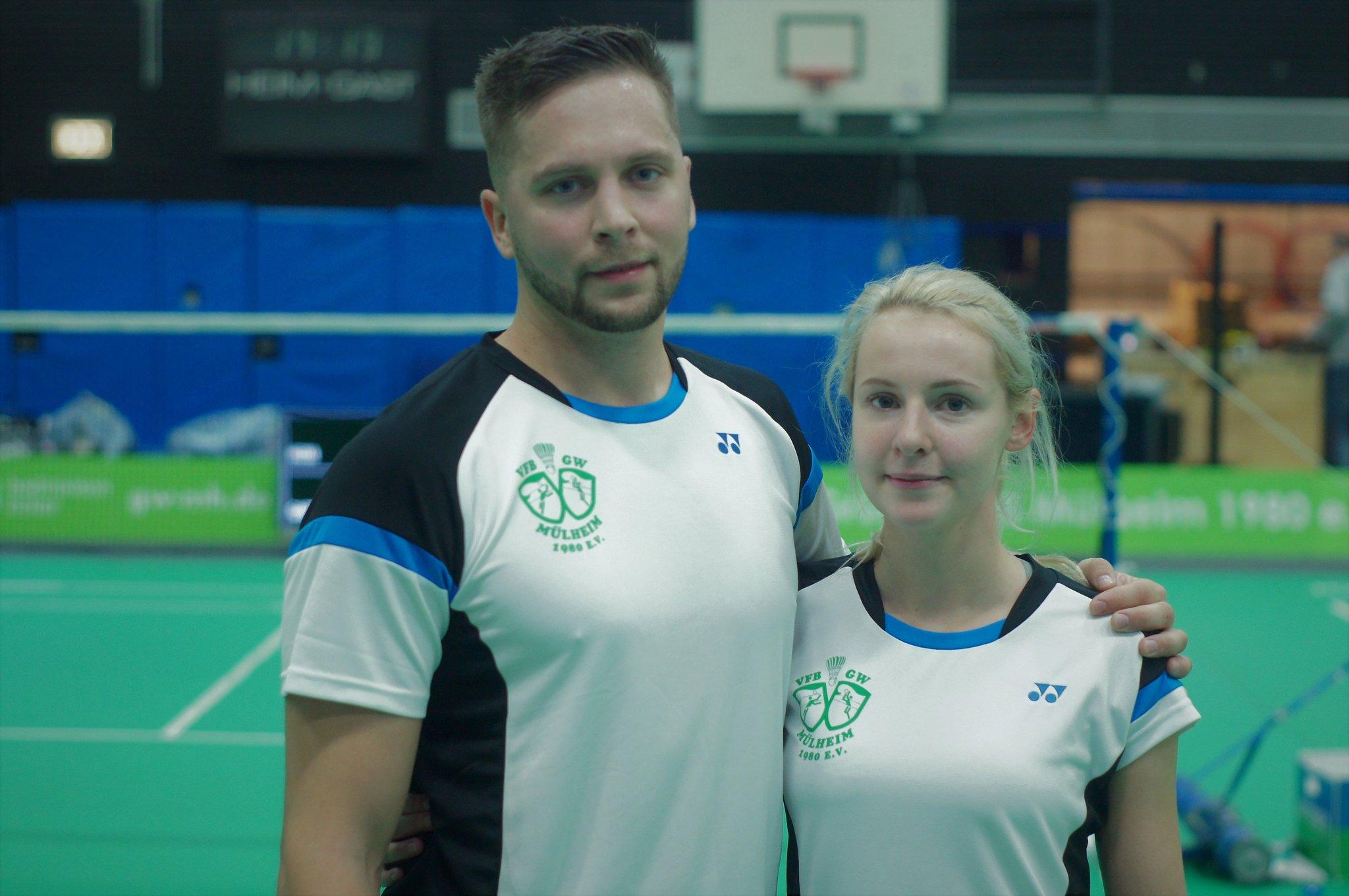 Badminton: Kuznetsov/Stremlau gewinnen erneut DBV Ranglistenturnier - Mülheim an der Ruhr - Lokalkompass.de