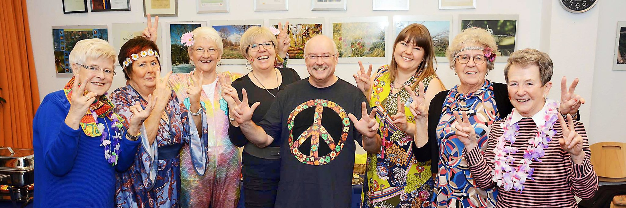 Gelungenes Woodstock-Revival bei Ü50-Party im