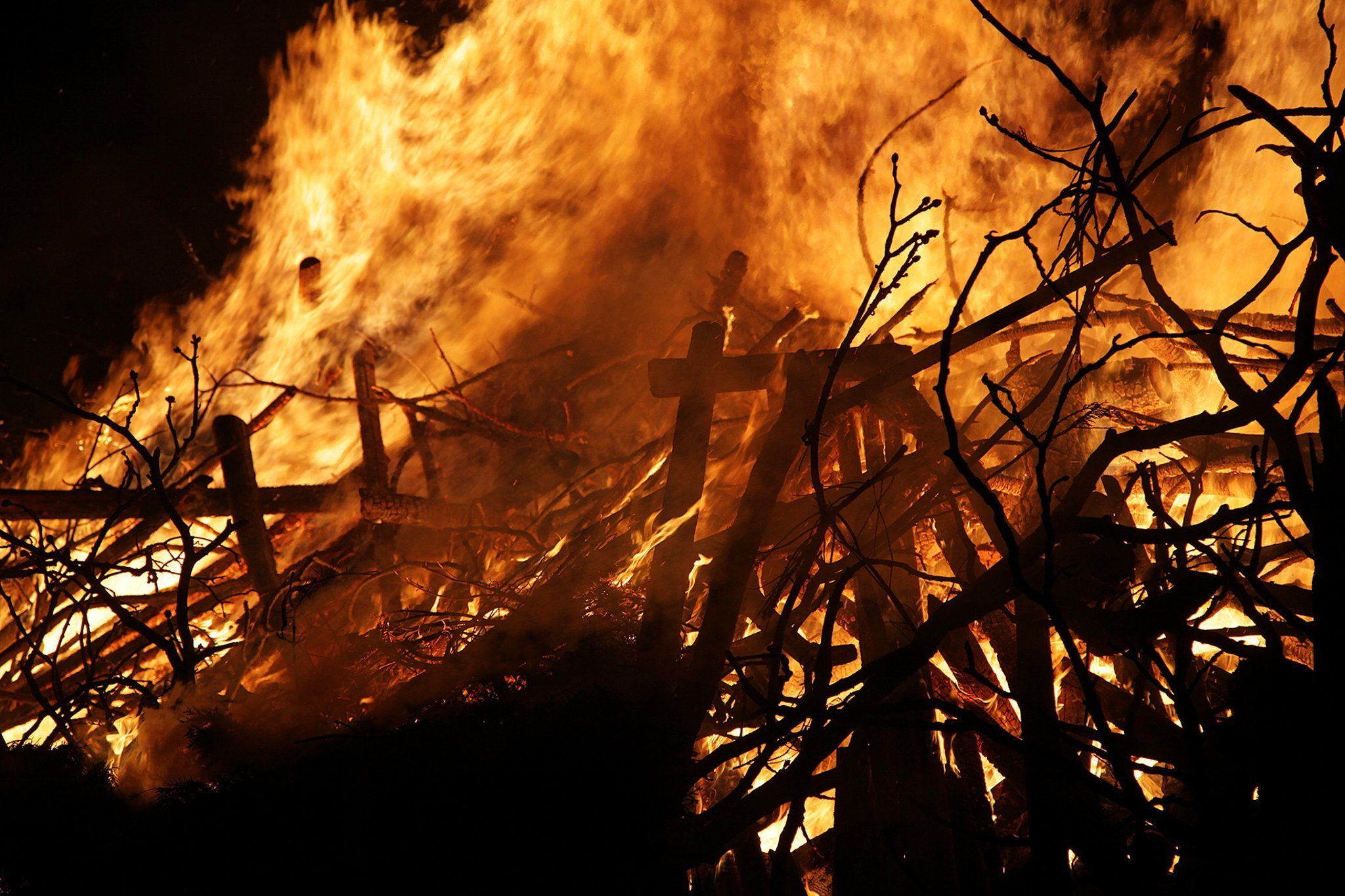 Osterfeuer Moers