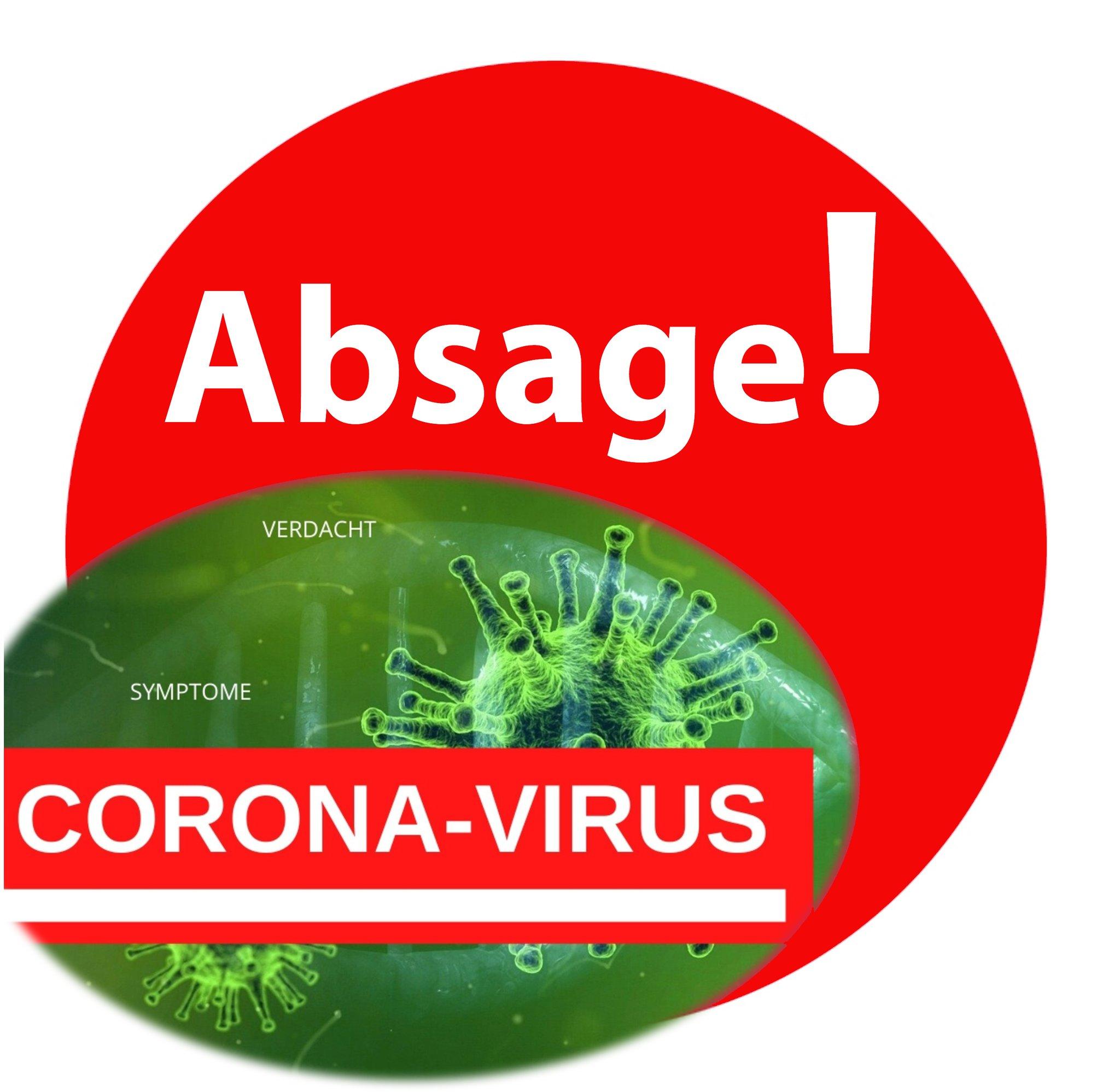 Bildergebnis für absage corona