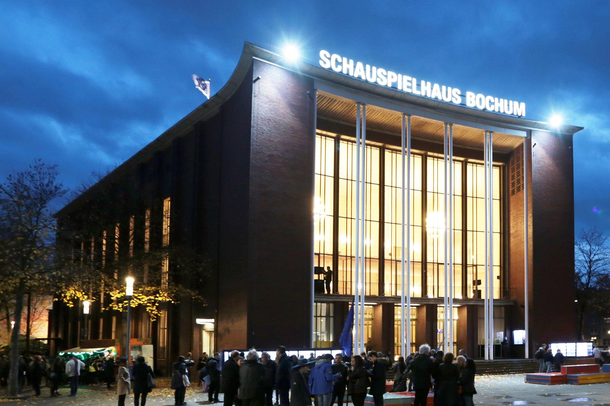 Schauspielhaus Bochum Drei Männer Im Schnee