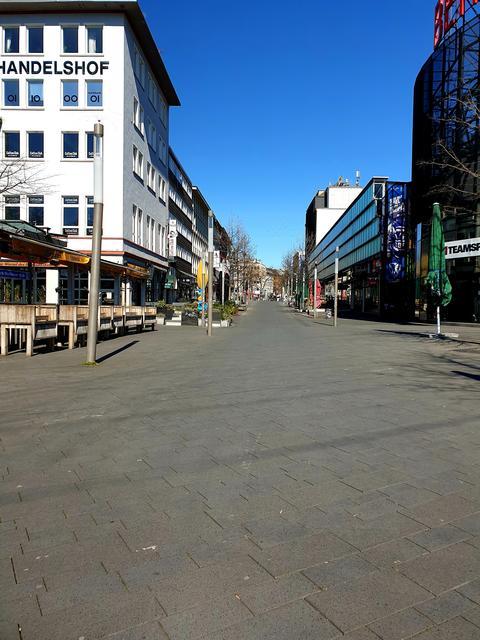 Ausgangssperre Bochum