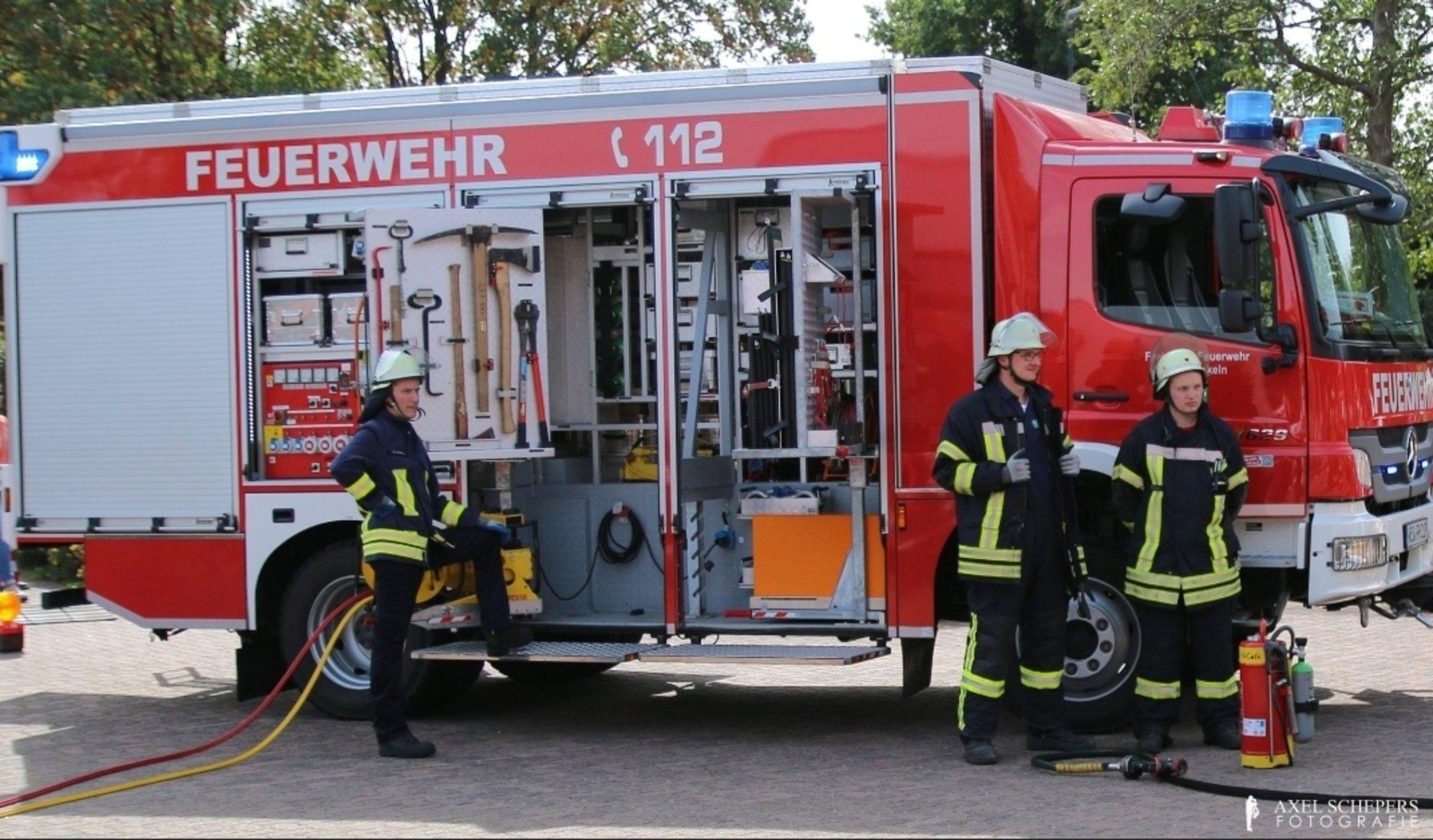 Feuerwehreinsatz Hamminkeln