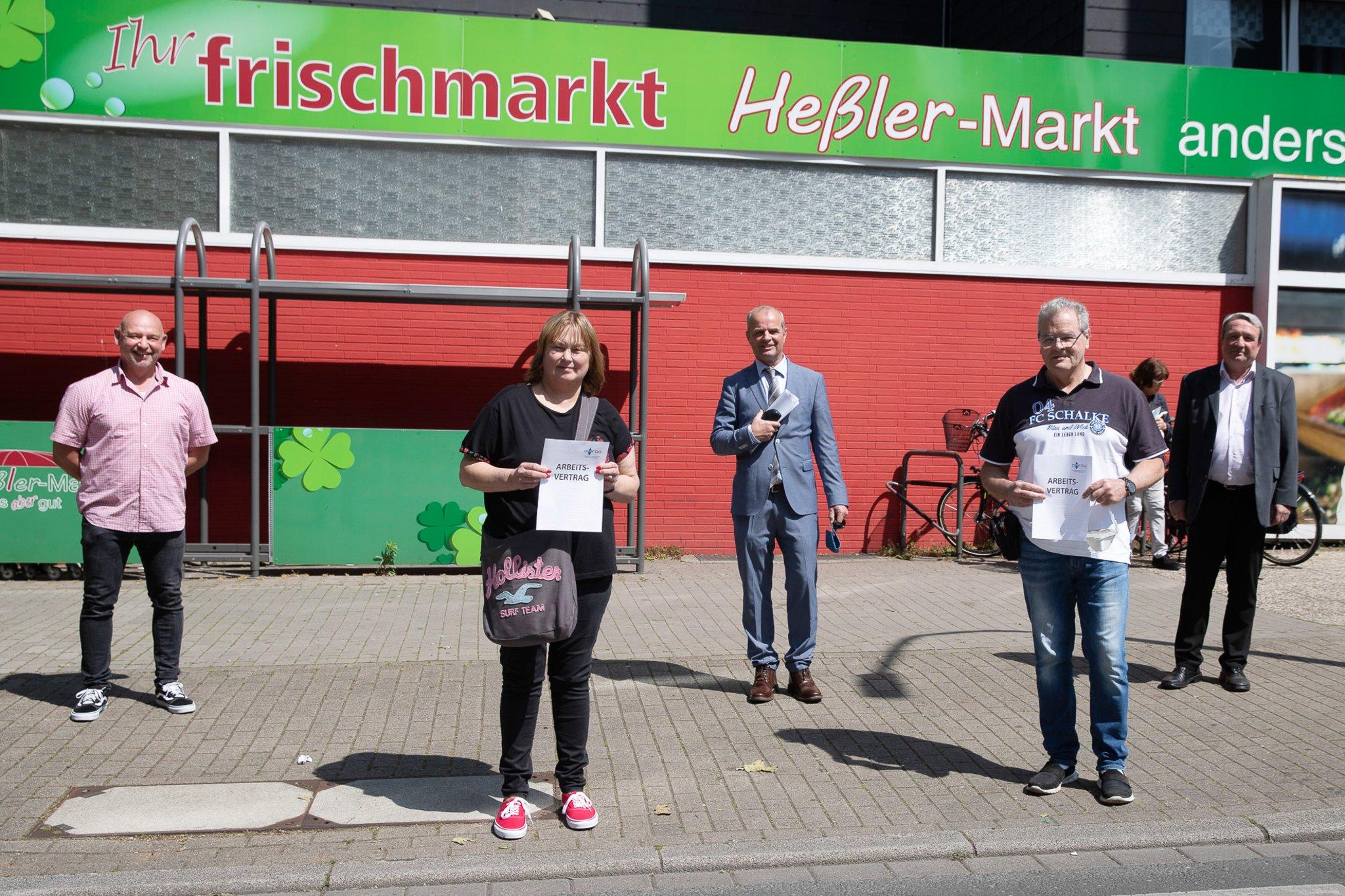 Gafög und IAG vermitteln in den ersten Arbeitsmarkt