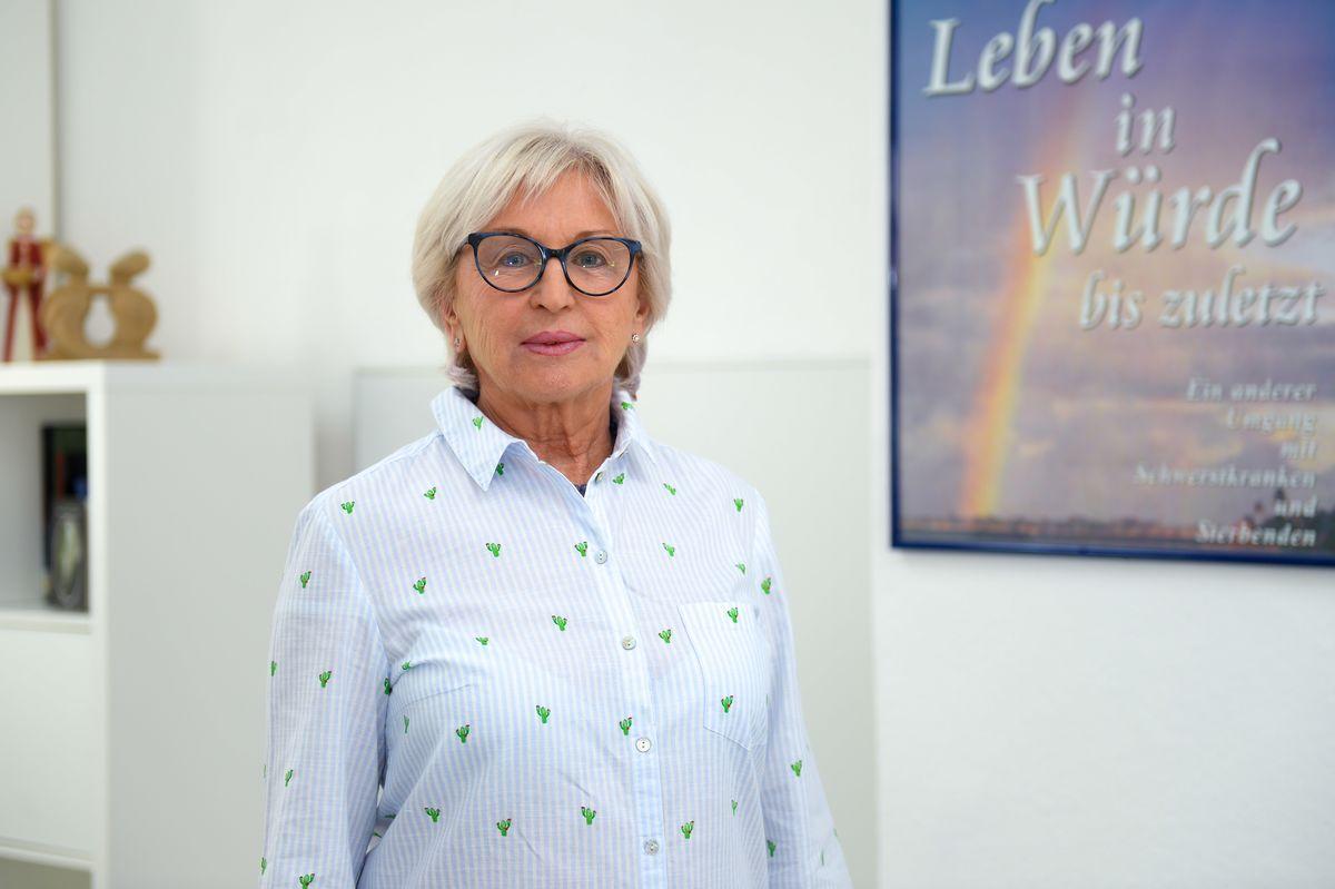 Ursula König leitet das Ambulante Hospiz. Foto: PR-Köhring/TW