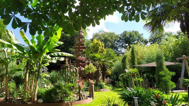 Offener Garten Thema