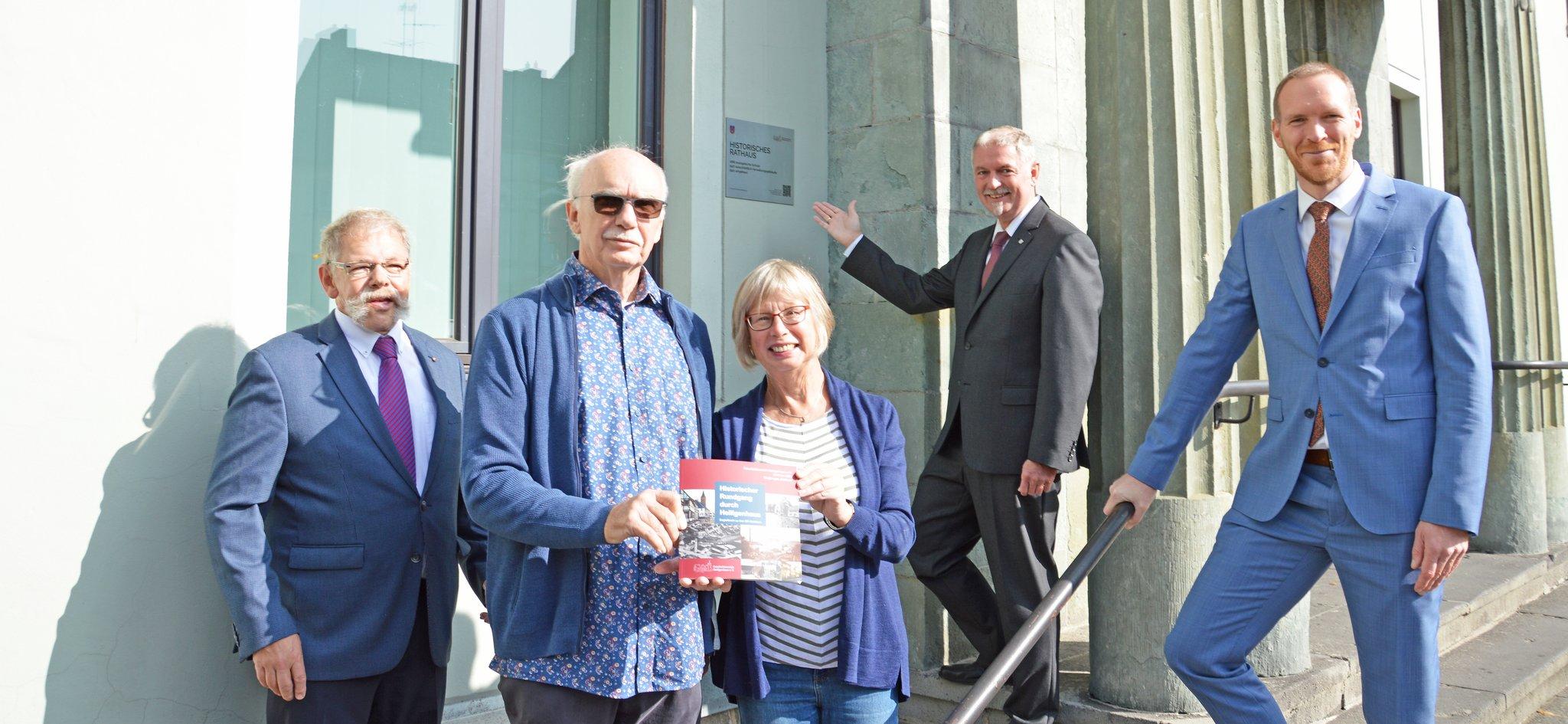 Municipal , Construction and Equality of Country NRW: Heiligenhauser Geschichte wird modern aufbereitet - Heiligenhaus...