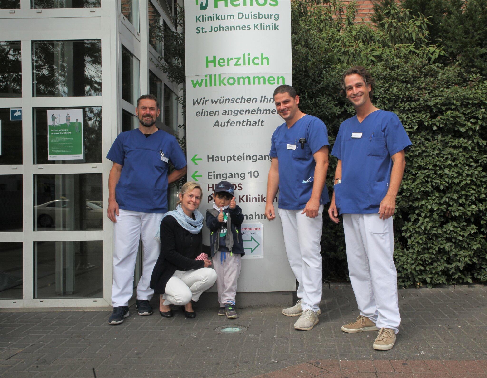 Helios Klinikums Duisburg: Eine zweite Chance f