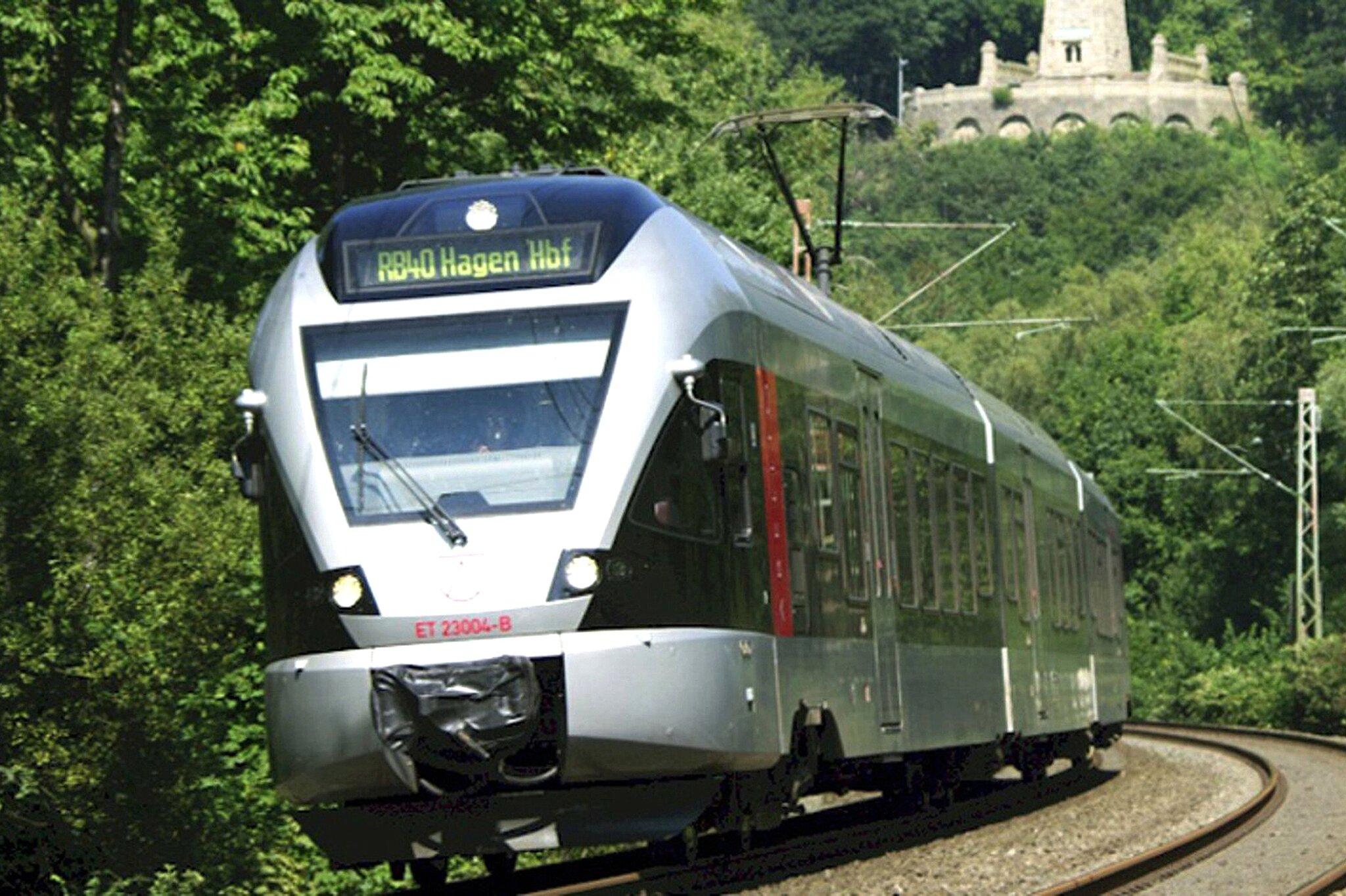 : Sperrung zwischen Hagen Hauptbahnhof und Wuppertal-Oberbarmen auf...